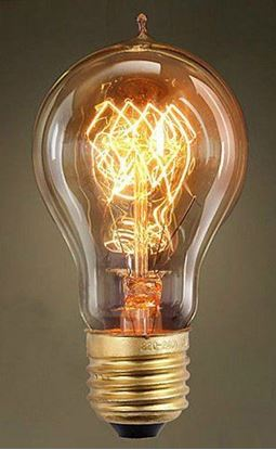 Изображение Лампа накаливания Lussole (Италия) E27 60W 220V Артикул: GF-E-719