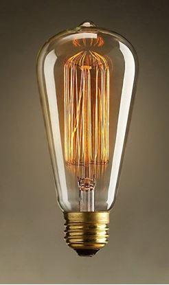 Изображение Лампа накаливания Lussole (Италия) E27 60W 220V Артикул: GF-E-764
