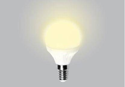 Изображение Лампа светодиодная Ambrella (Россия) E14 5W 3000K 220V Артикул: 203614