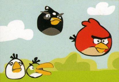 Изображение Angry Birds. Белый, черный, красный!