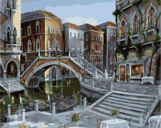 """Изображение """"Восход солнца в Венеции"""" Роберта Файнэла"""