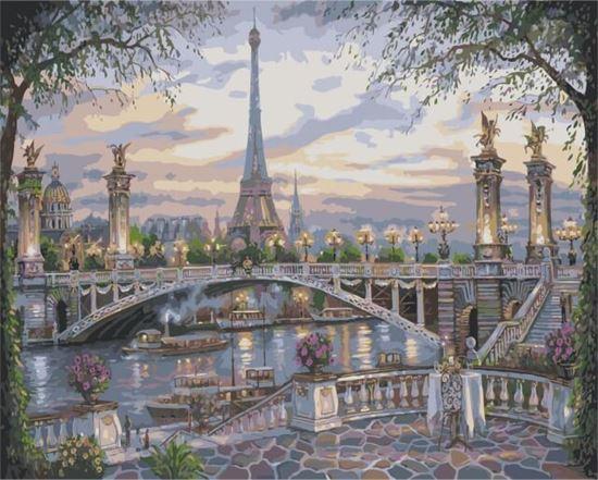 """Изображение """"Воспоминание о Париже"""" Роберта Файнэла"""