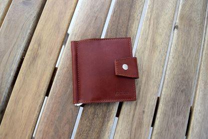 Изображение Зажим для денег Mini (коричневый) Ezcase (Белоруссия) Артикул:  ZD00003