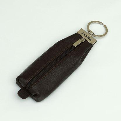 Изображение Ключница кожаная коричневая ALSWA(Россия) Артикул: KL000005